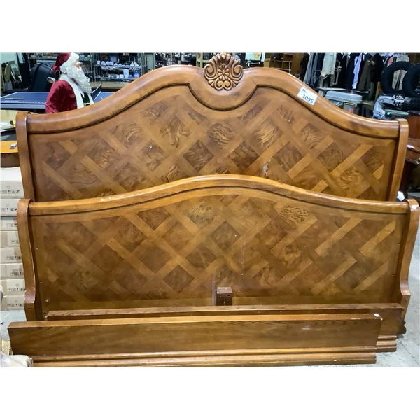 QUEEN SIZE BED FRAME NO HARDWARE