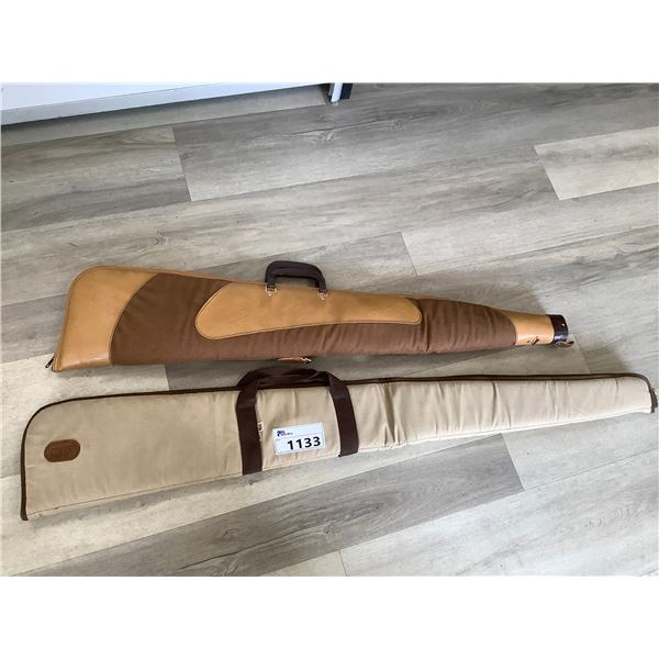 2 SOFT SHELL RIFLE CASES