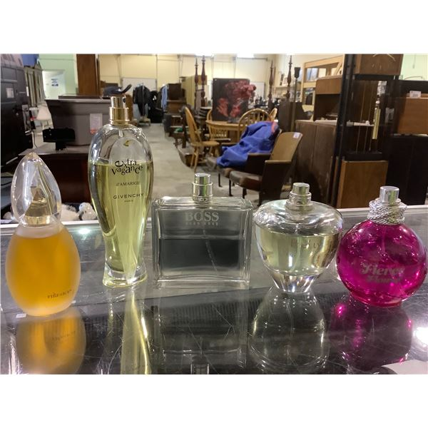 ASSORTED PERFUME/COLOGNE: HUGO BOSS, GIVENCHY, AND MORE
