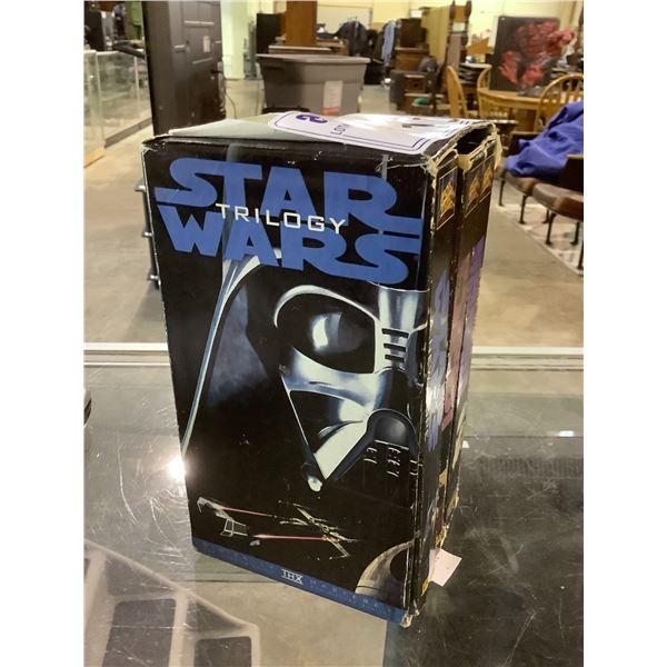 STAR WARS TRILOGY VHS