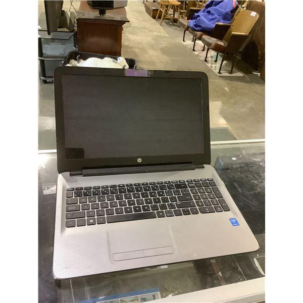 HP LAPTOP MAY NEED REPAIRS NO CHARGER NO HARD DRIVE MODEL 15-AC153CA