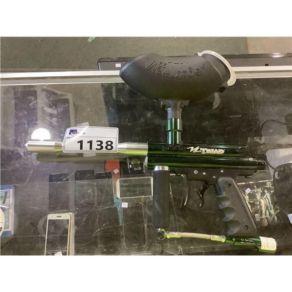 VIEW LOADER VL 200 TRIAD PAINTBALL GUN