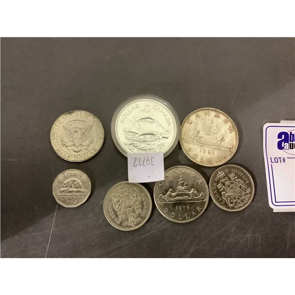 7 ASSORTED COINS
