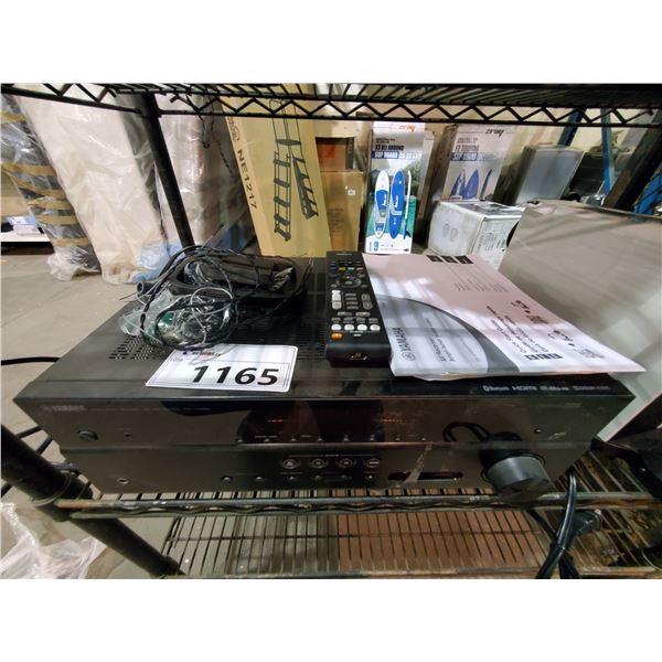 YAMAHA NATURAL SOUND A/V RECEIVER MODEL RX-V385