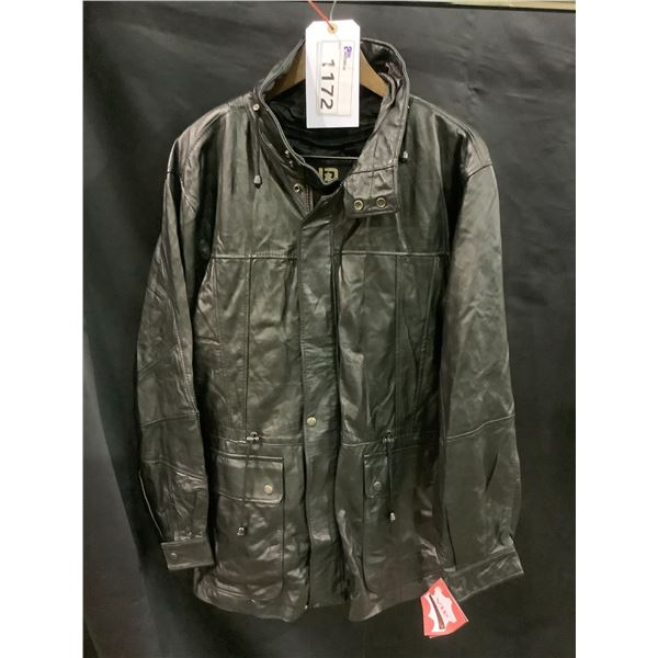 NEW WITH TAGS VIP LEATHERS CANADA LEATHER JACKET LAMBSKIN SIZE M