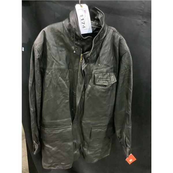 NEW WITH TAGS VIP LEATHERS CANADA LEATHER JACKET LAMBSKIN SIZE XL RETAIL $595