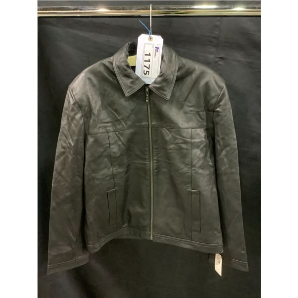 NEW WITH TAGS VIP LEATHERS CANADA LEATHER JACKET LAMBSKIN SIZE S RETAIL $445