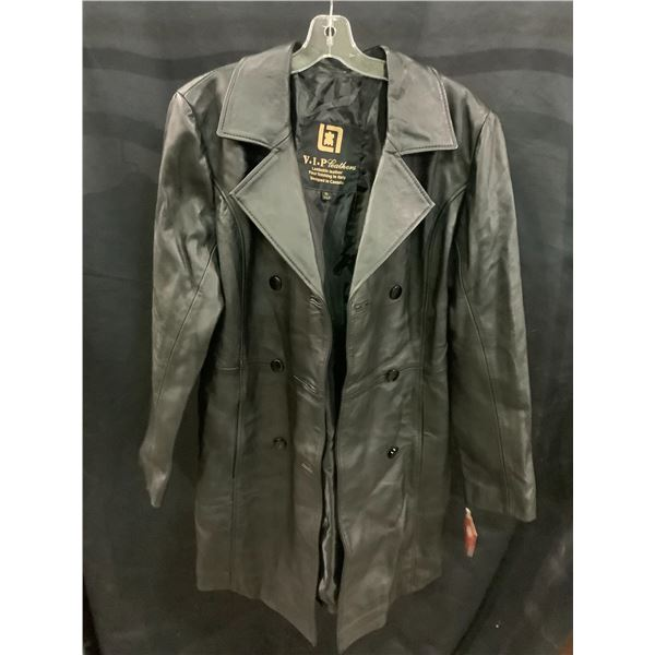 NEW WITH TAGS VIP LEATHERS CANADA LEATHER JACKET LAMBSKIN SIZE XL RETAIL $545