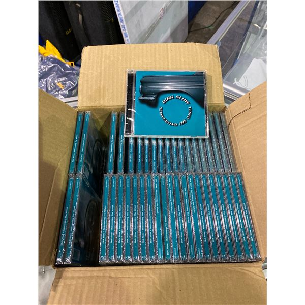 BOX OF 41 NEW DIRK SLOW REINVENTING THE WHEEL 12 TRACK CDS