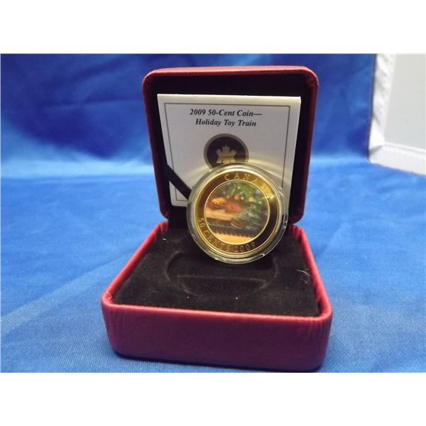 2009 50 cent coin holiday train RCM(D&M)