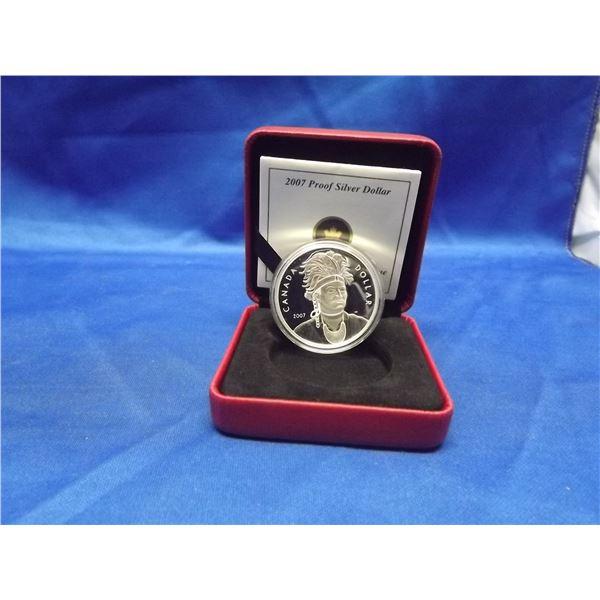 2007 RCM 1 dollar silver dollar coin (D&M)