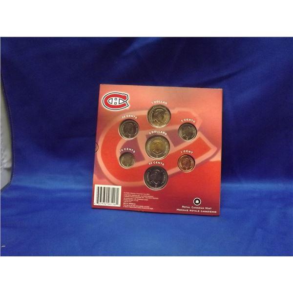 2008 RCM Commemorative coin set. Montreal Canadiens (D&M)