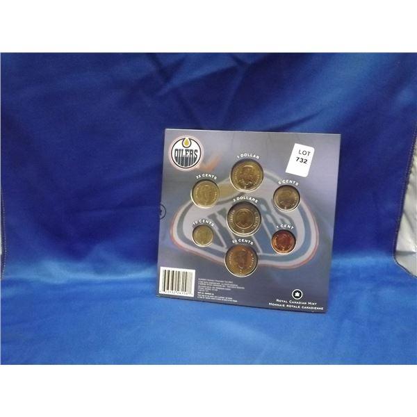 2008 RCM Oilers Commemorative coin set (D&M)