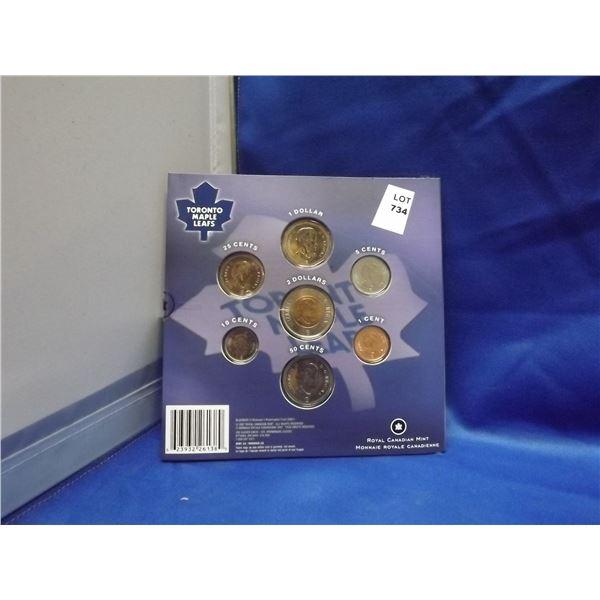 2008 RCM Toronto Maple Leafs commemorative coin set (D&M)