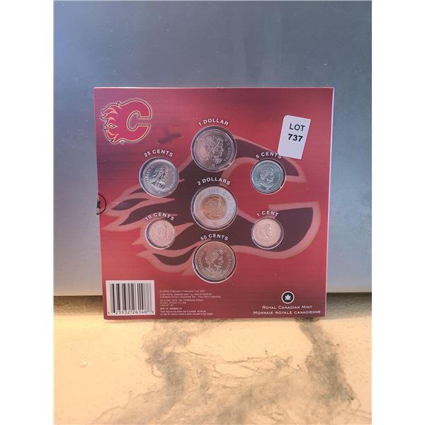 2008 RCM Calgary Flames commemorative coin set (D&M)