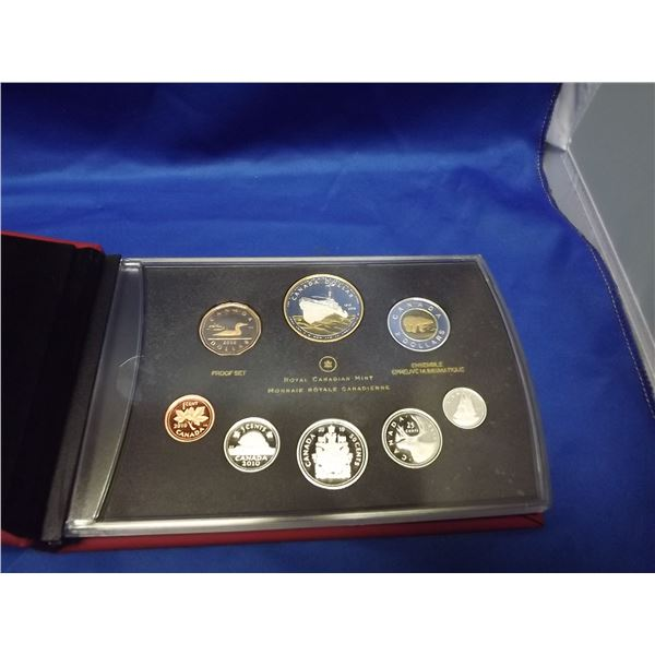 2010 RCM Proof Set of Canadian Coinage (D&M)