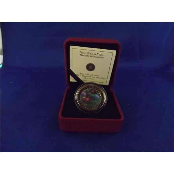 2007 RCM 50 cent coil. Holiday Ornaments (D&M)