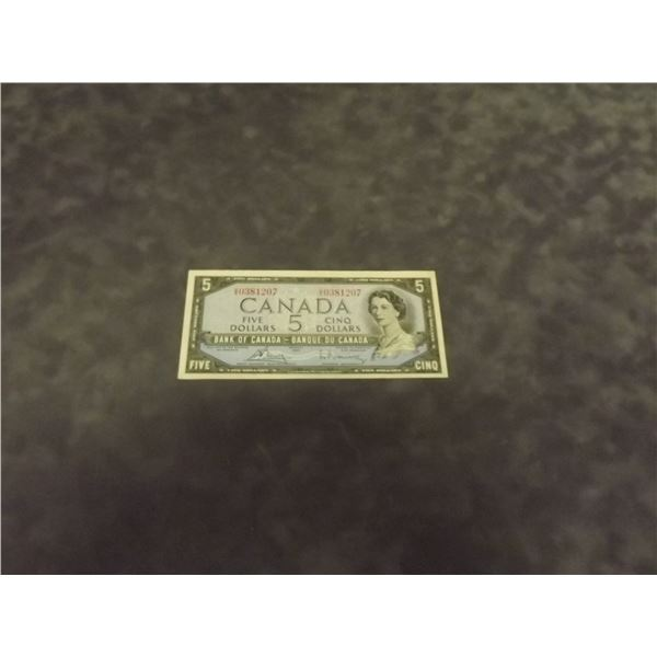 1954 5$ bill (D&M)