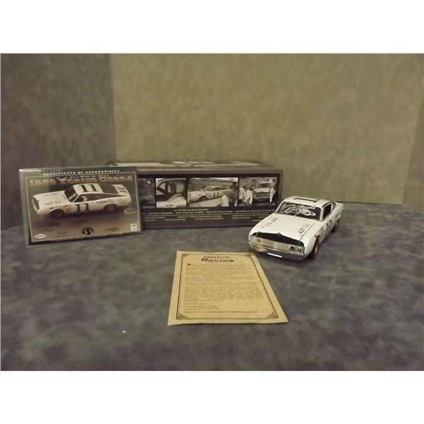 1969 Torino Cobra A.J Foyt's #11 Autographed Diecast (D&M)
