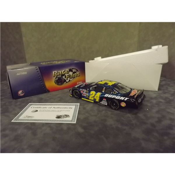 Jeff Gordon #24 Dupont/Pepsi 2005 Monte Carlo Diecast with certificate of authenticity (D&M)
