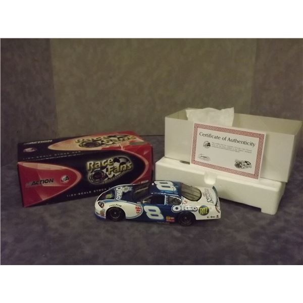 Dale Earnhardt Jr. #8  Oreo/Ritz 2006 Monte Carlo Color Chrome Nascar Diecast with Certificate of  (
