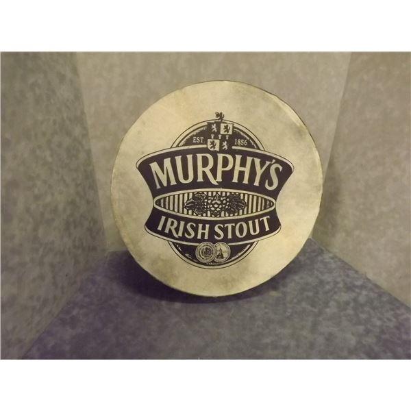 Vintage Murphy's Irish stout Celtic drum (O)
