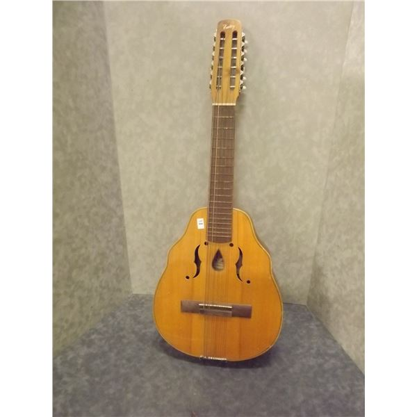 Vintage Cuban Laud Tenor 12 string Tatay musical instrument  (O)