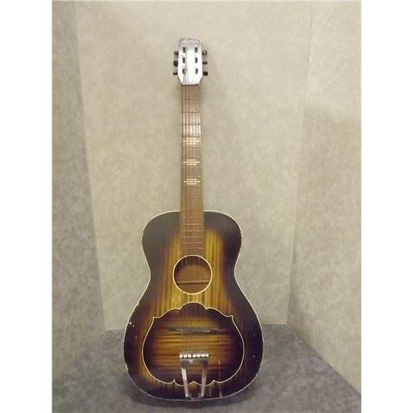 Vintage Harmony Small Guitar Made in the USA (O)