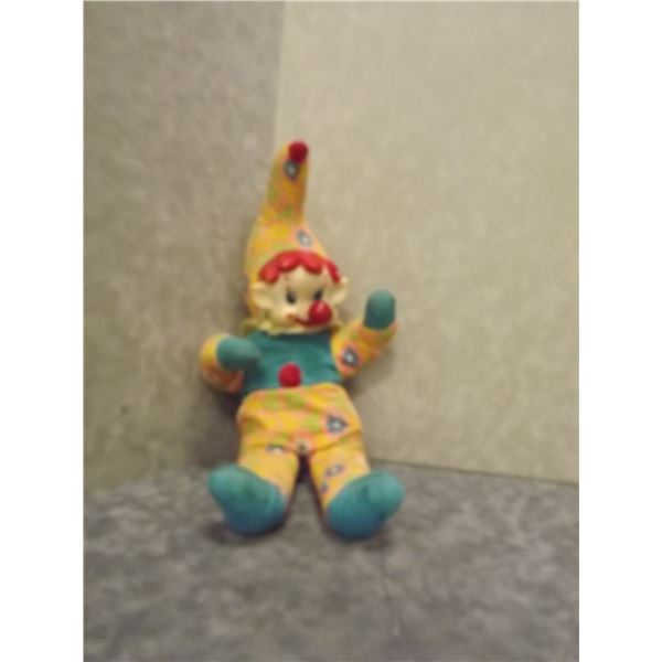 Vintage clown with wind up music box nose (PM)