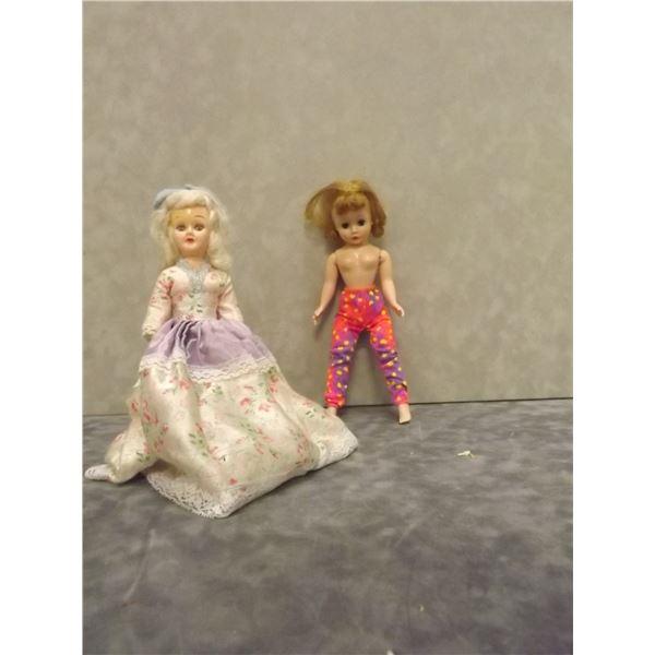 Pair of Vintage Dolls. Alexander Doll Plastic (PM)