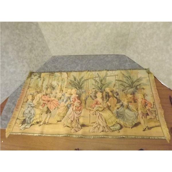 Antique Tapestry Made in Belgium (PM)