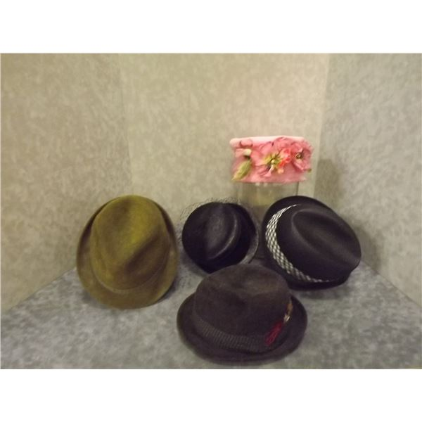 Collection of Vintage Hats (PM)