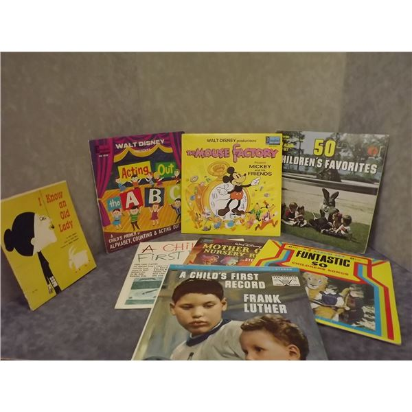 Collection of Childrens records(PM)