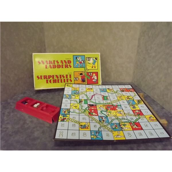1979 Snakes and Ladders Board Game (PM)