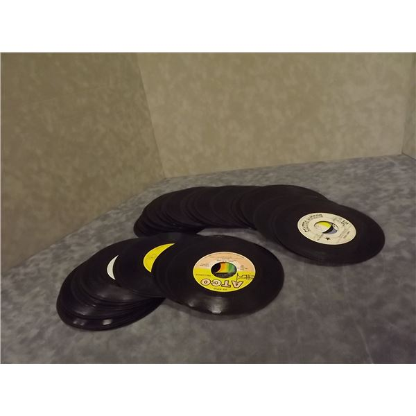 Collection of 45 Vintage records. 1960's (PM)