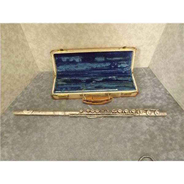 Vintage Silver Flute (O)