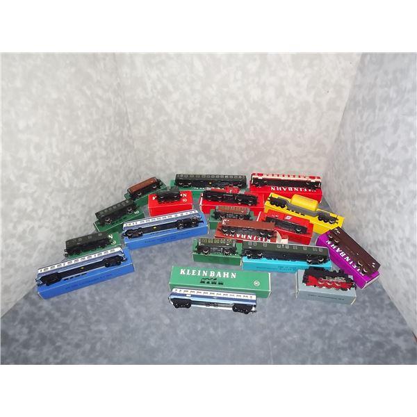 Kleinbahn HO Modle Train Cars, Engines (TS)