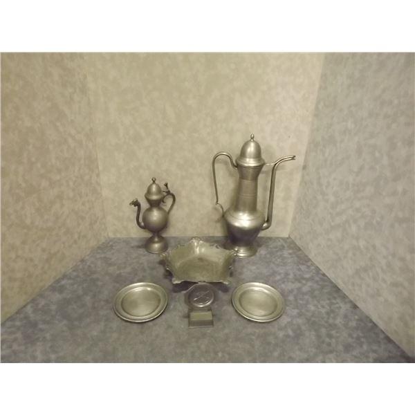 Antique pewter Set (DQ)