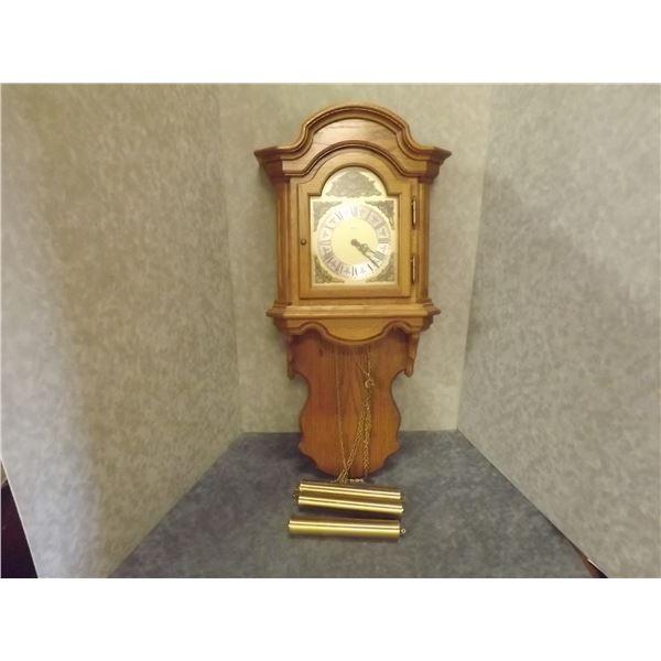 Vintage German Grandmother Clock (DQ)