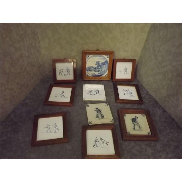 Antique Ceramic Story Tiles (DQ)