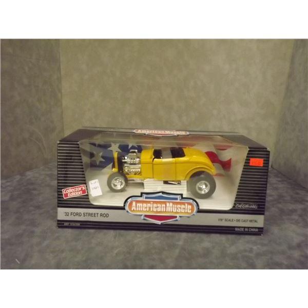 1 Diecast 1932 Ford Street Rod 1:18 Scale (PH)