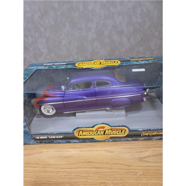 1 Diecast 1949 Ford Mercury Lead Sled 1:18 scale (PH)