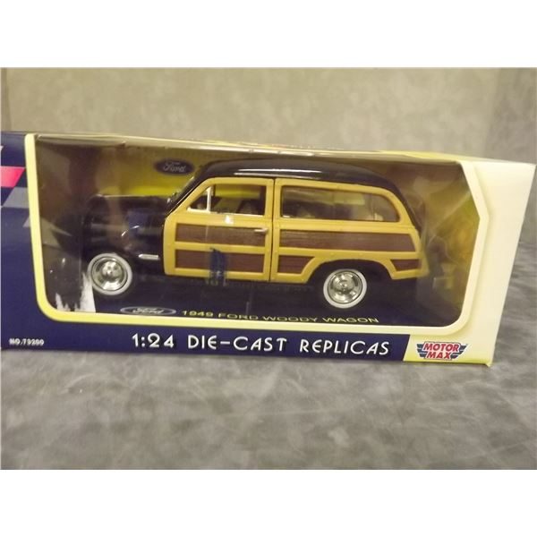 1 Diecast 1949 Ford Woody Wagon 1:24 scale (PH)