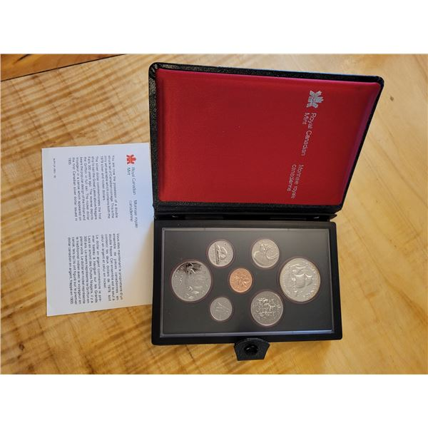 1979 RCM proof set. 7 pieces in case (O)