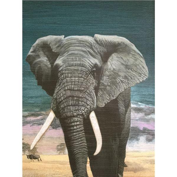 Majestic Elephant  by Clint Eagar.