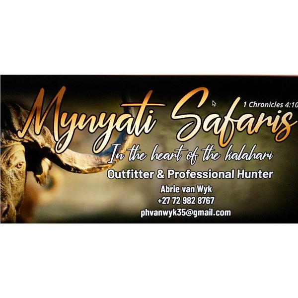 South Africa hunt for two hunters with Mynyati Safaris in the beautiful North West province.