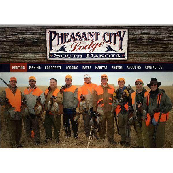 South Dakota Pheasant Hunt with Pheasant City Lodge