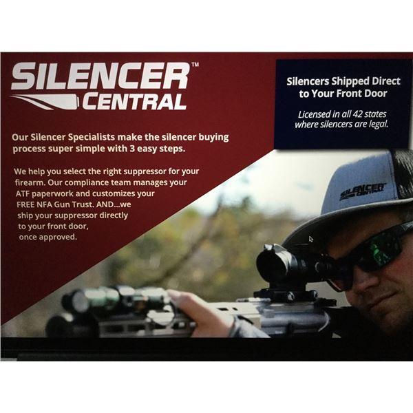 SoLo 22 LR caliber suppressor from SilencerCentral..