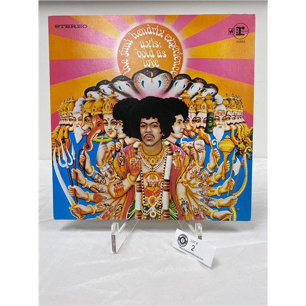 The Jimmy Hendrix Experience ( 1967) Axis : Bold as Love In Outer Bag