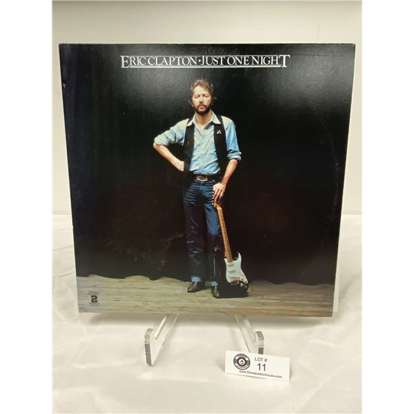 Eric Clapton ( 1980) Just One Night. In Outer Bag